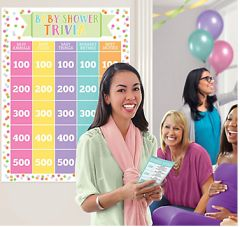 Baby Shower Trivia Game