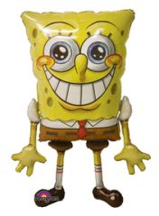 Giant Sponge Bob Air-Walker Balloon 46""