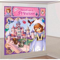 ©Disney Sofia The First Scene Setters® Wall Decorating Kit
