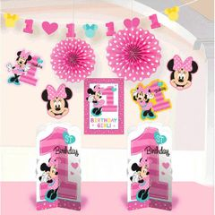 ©Disney Minnie's Fun To Be One Room Decorating Kit