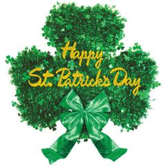 Happy St Patrick's Shamrock Decoration