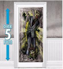 Zombie Vertical Door Decoration