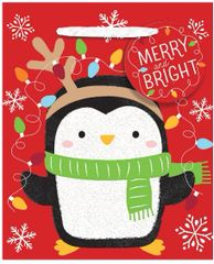 Penguin Small Vertical Bag w/ gift tag