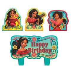 ©Disney Elena of Avalor Birthday Candle Set