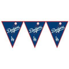 Los Angeles Dodgers Major League Baseball Pennant Banner