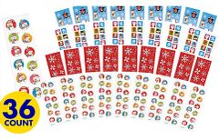 Christmas Stickers Strips