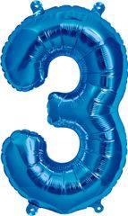 """16"""" NUMBER 3 BLUE – PKG"""