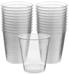 Clear Plastic Cups, 12 oz - 20ct