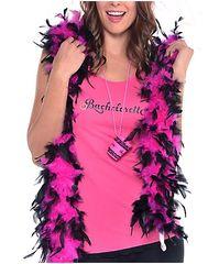 Sassy Bride Feather Boa