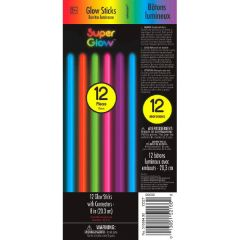 "8"" Glow Sticks Tube - Multi Color"