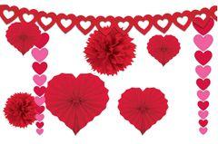 Valentine's Day Paper Decorating Kit, 9pc