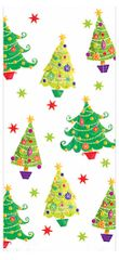 Christmas Tree Large Cello Party Bags