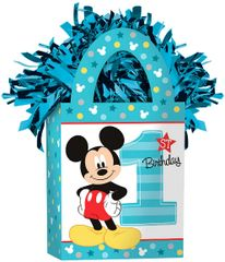 ©Disney Mickey's Fun To Be One Mini Tote Balloon Weight