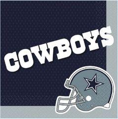 Dallas Cowboys Luncheon Napkins, 16ct