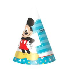 ©Disney Mickey's Fun To Be One Paper Cone Hats