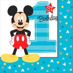 ©Disney Mickey's Fun To Be One Beverage Napkins, 16ct