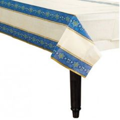 Hanukkah Judaic Traditions Paper Table Cover