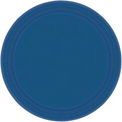 """Navy Flag Blue Lunch Plates, 9"""" - 20ct"""