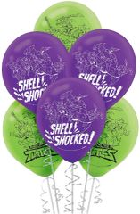Rise of the TMNT™ Latex Balloons, 6ct
