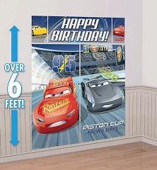 ©DISNEY CARS 3 Scene Setter® Wall Decorating Kit