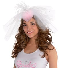 Elegant Bride Fascinator