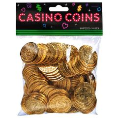 Casino Gold Coins 144ct