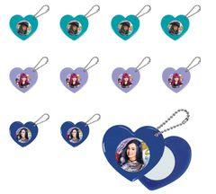 ©Disney Descendants 2 Heart Mirror Key-Chain Favor