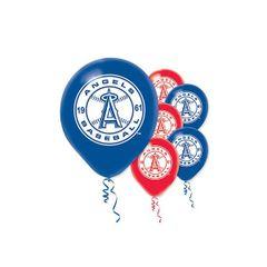 Los Angeles Angels Major League Baseball Printed Latex Balloons