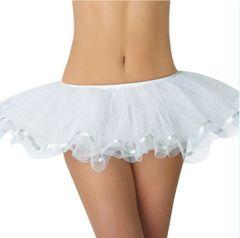 White Shimmer Tutu - Adult Standard