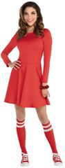 Women's Red Flare Dress - Adult Standard