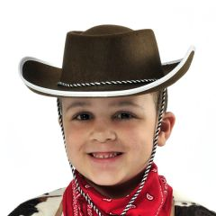 Child's Cowboy Hat - Fabric