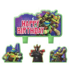 TMNT™ Mini Molded Cake Candles