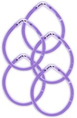 "8"" Purple Glow Sticks, 5ct"