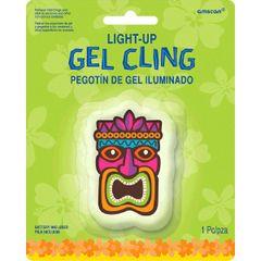 Tiki Light-Up Gel Cling
