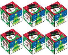 Christmas Plastic Puzzle Cube