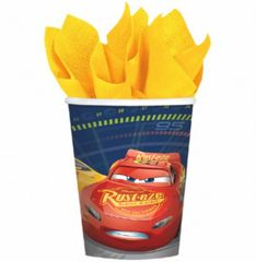 ©DISNEY CARS 3 Cups, 9 oz.