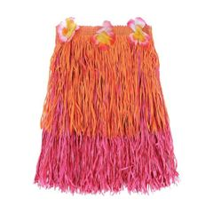 Adult Warm Two-Tone Mini Hula Skirt