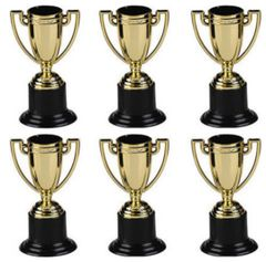 Award Trophies, 6ct