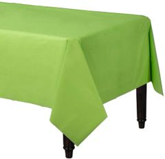 "Kiwi Rectangular Plastic Table Cover, 54"" x 108"""