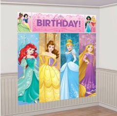 ©Disney Princess Dream Big Scene Setters® Wall Decorating Kit