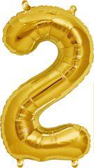 """16"""" NUMBER 2 GOLD – PKG"""