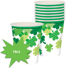 Blooming Shamrocks Cups, 18ct