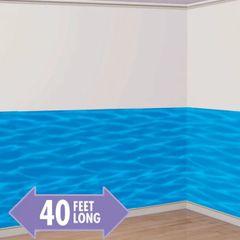 Blue Ocean Scene Setter Room Roll