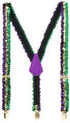 Mardi Gras Deluxe Suspenders
