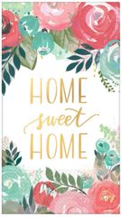 Metallic Home Sweet Home Guest Towels, 16ct