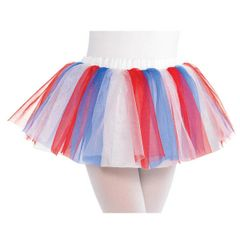 Child Red, White & Blue Tutu