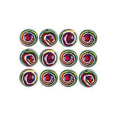 Stripe Bounce Balls