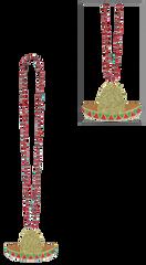 Cinco Sombrero Necklace