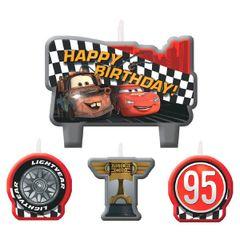 ©Disney Cars Formula Racer Birthday Candle Set