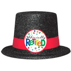 Officially Retired Glitter Top Hat